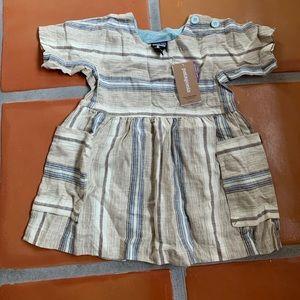 Patagonia baby hemp dress 12-18 months NWT